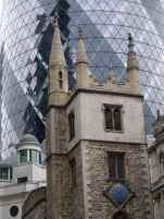 St Andrew Undershaft and the Gherkin