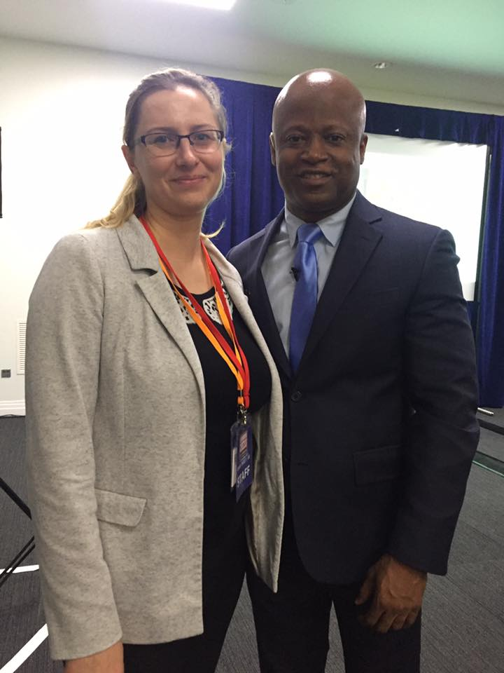 Maurice Ashley spoke at the conference