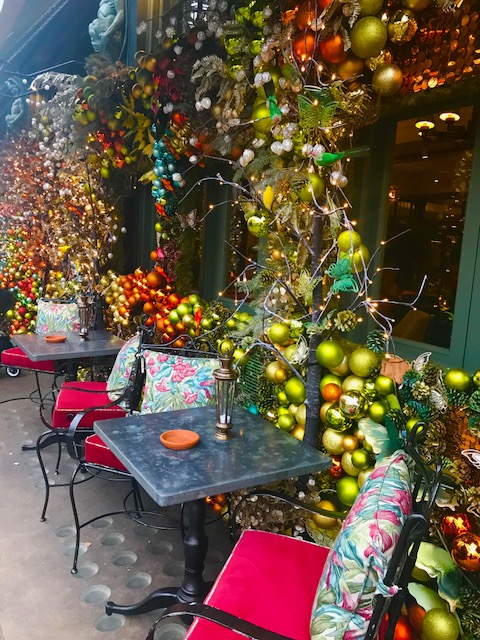 The Ivy Chelsea London Christmas