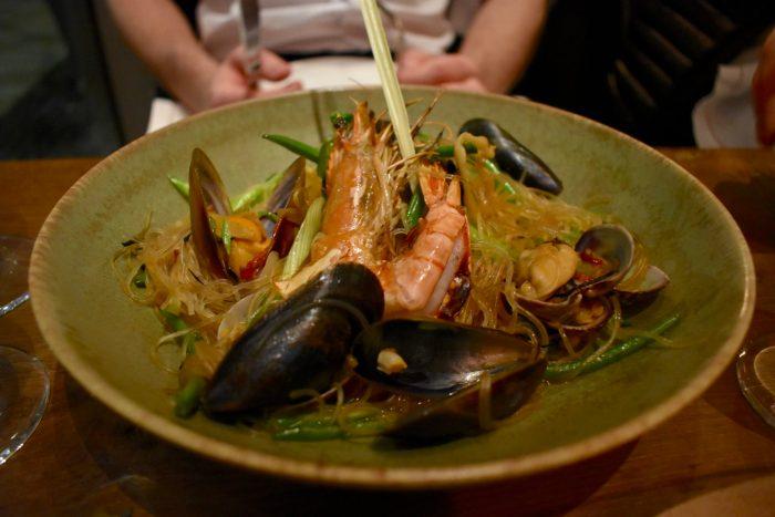 Rail House Cafe Seafood Noodles Victoria London