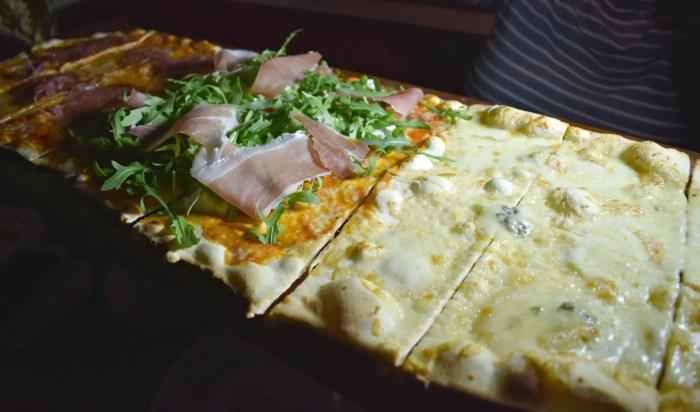 Pizza at Bunga Bunga Covent Garden