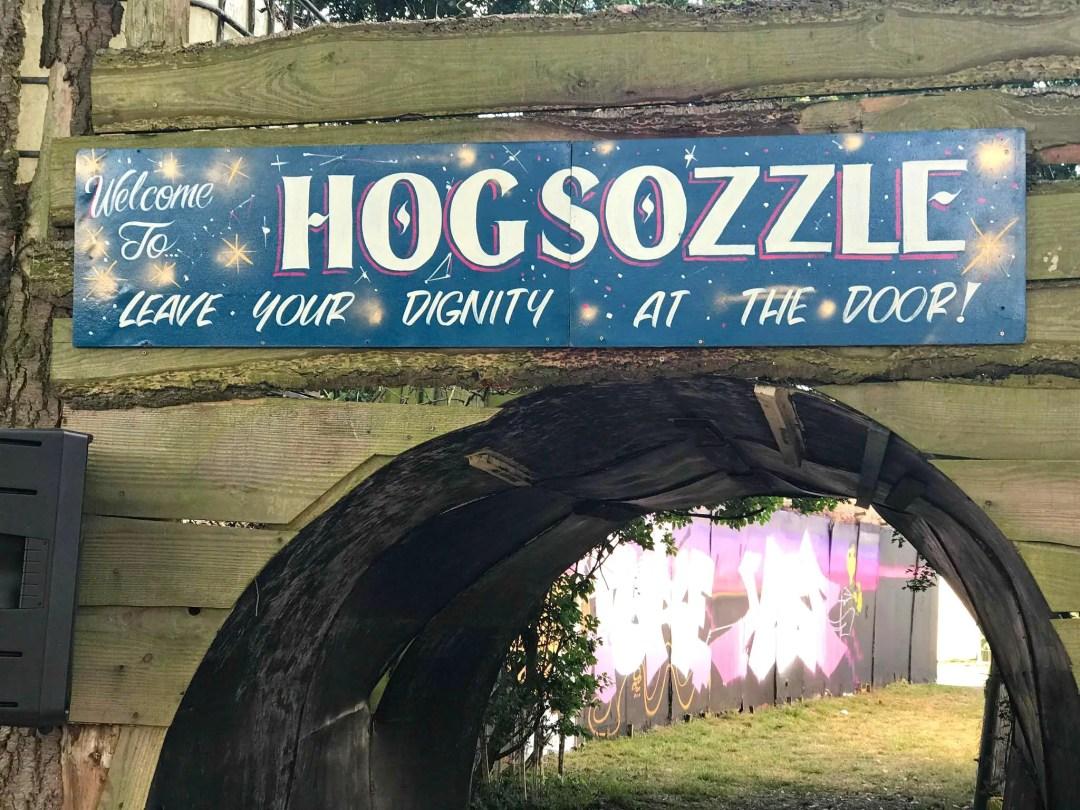 HogSozzle Music Festival Entry Sign