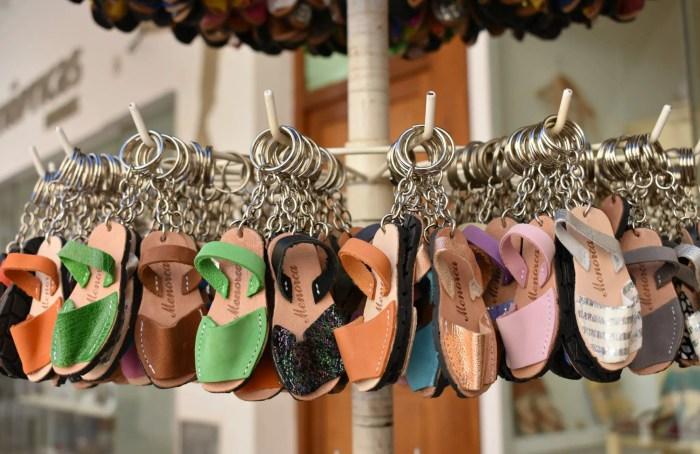 Avarcas Sandal Keyrings