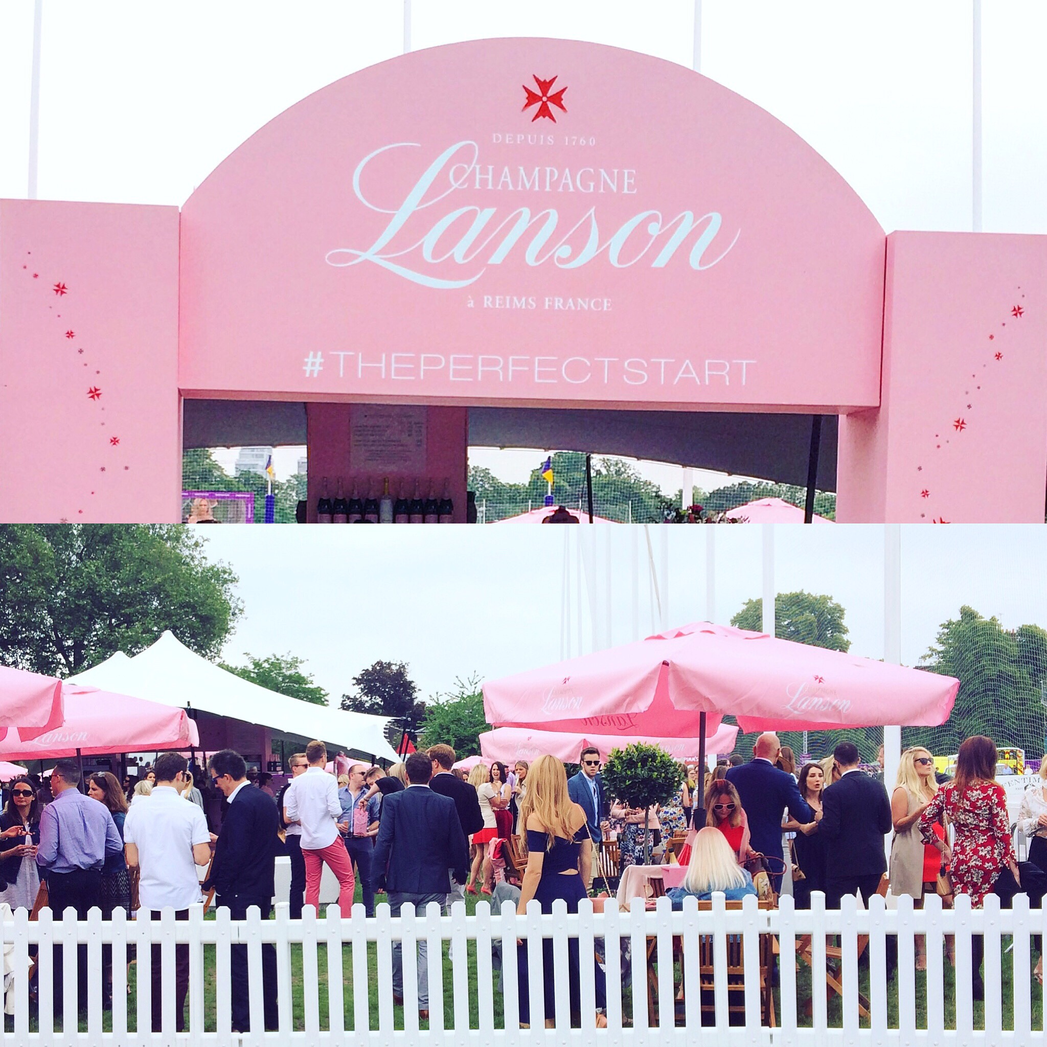 Lanson Champagne Bar at Chesterton's Polo in the Park
