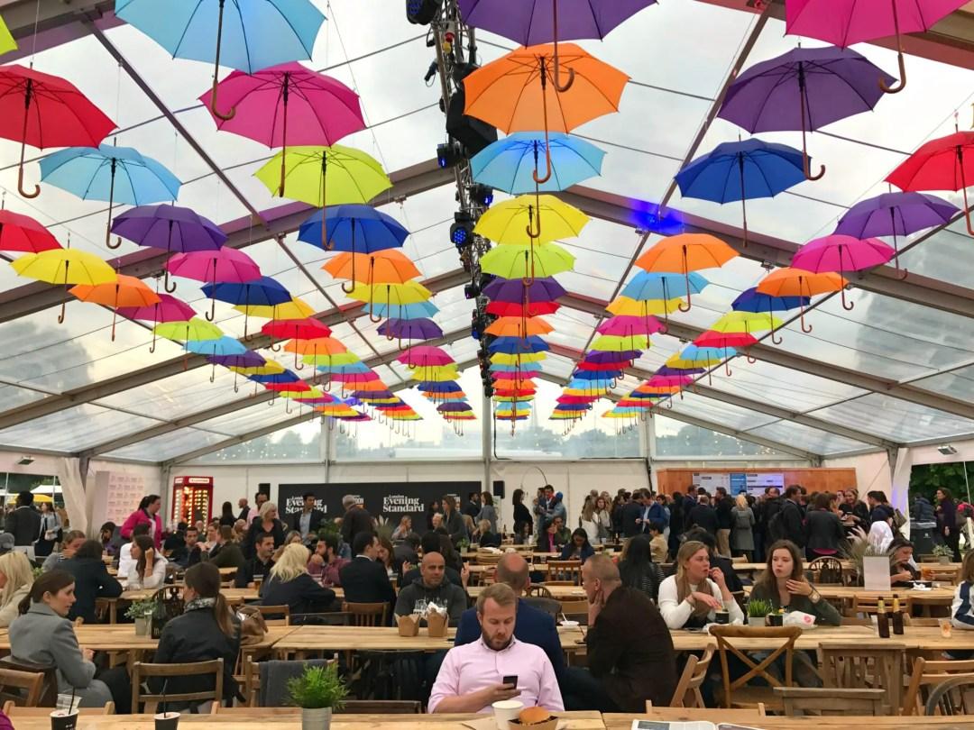 Evening Standard Food Festival Kensington