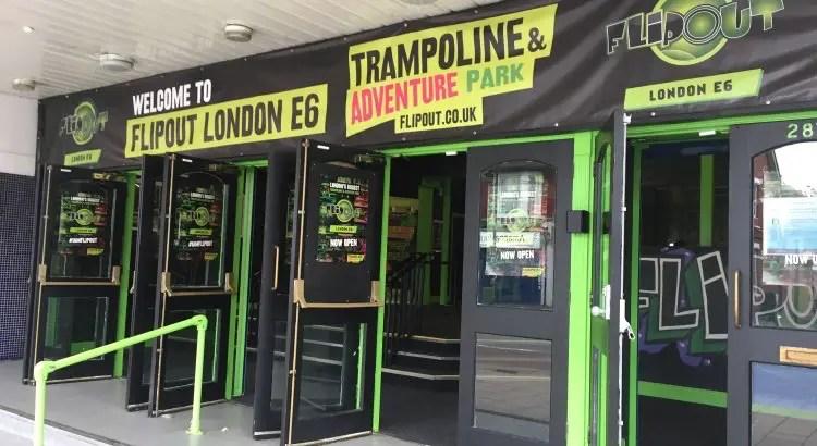 Flip Out E6 – London's Biggest Trampoline and Adventure Park!