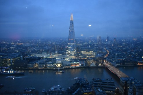 The view of the Shard