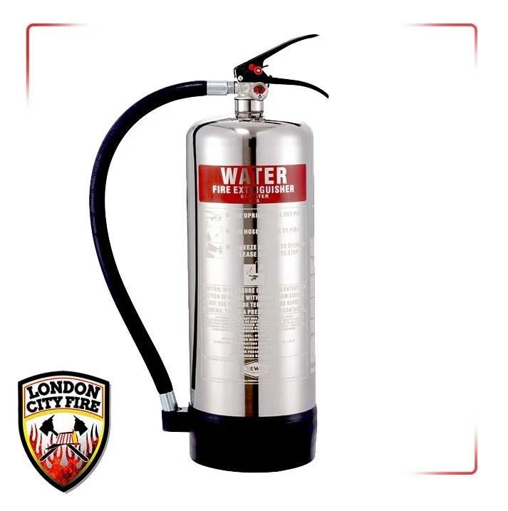 Chrome Fire Extinguishers London City Fire