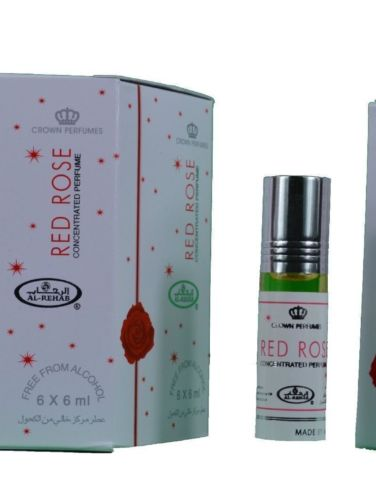 Red Rose Concentrated Perfume Oil 6ml