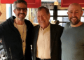 Feature image (L-R) Jason Flom, Irwin Cotler, and Jay Rosenzweig