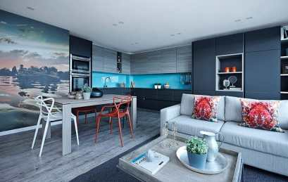 London Penthouse - Boscolo Interior Design