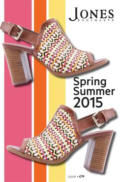 Jones Bootmaker SS15 Collection