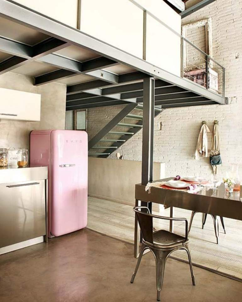 Designer Appliances for the Modern Home - Pink Smeg Fridge
