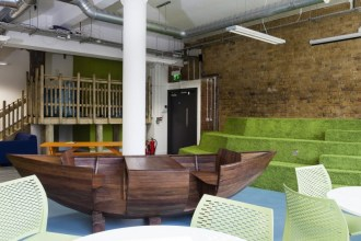 Recycle Week 2015: Three Amazing Office Interiors That Use Recycled Furnishings - Friends Of The Earth
