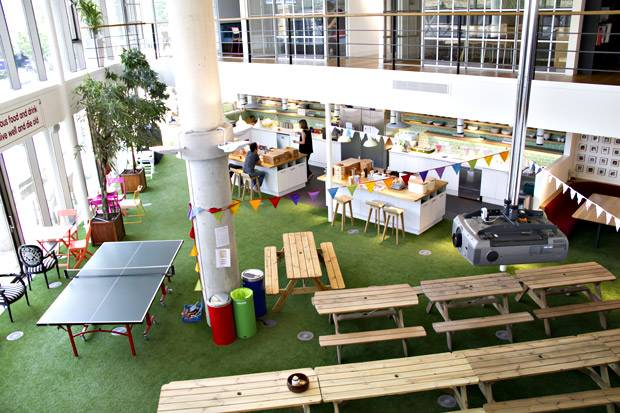 Four of London's Most Exciting Office Spaces - Innocent Smoothies Office West London