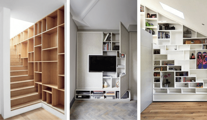 Style Tips For Small Homes - Space Saving Shelving