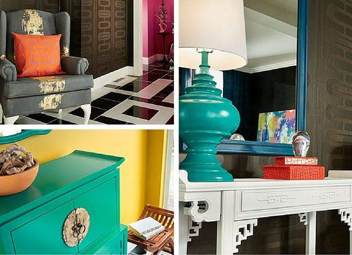 5 Home Interior Trends For Summer 2016 - High Contrast Colour By Behr