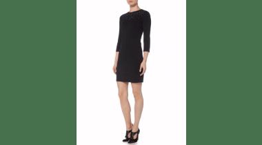 Little black dress from Armani