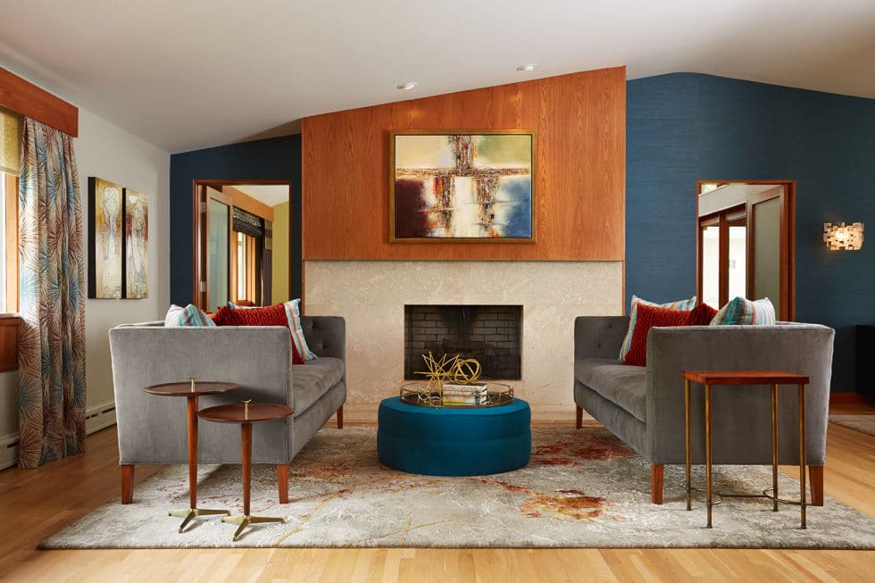 7 Simple Ways You Can Modernise Your Home - Image From Elle Decor - Designed By Fiddlehead Design Group.