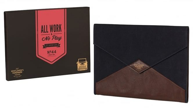 All Work and No Play Laptop Case