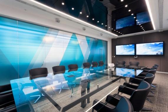 6 Ways to ensure a great business meeting - Image From Pendone Rose Of Aker Solutions Office