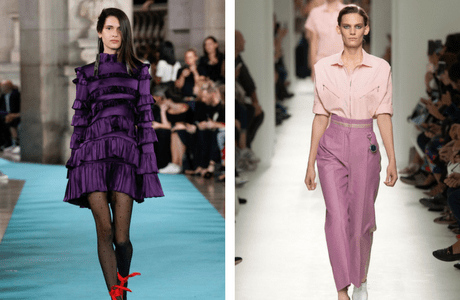 VOGUE Spring/Summer 2017 Colour Trends
