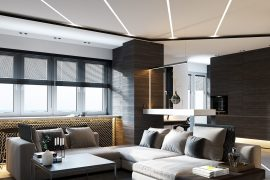 Household LED Lighting and Its Benefits - Image From Behance - By Maxim Tsiabus