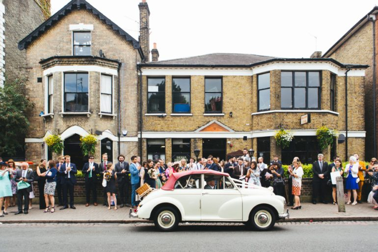 Things You Have To Experience In Balham - Balham Bowling Club Wedding - Image From Katy and Co