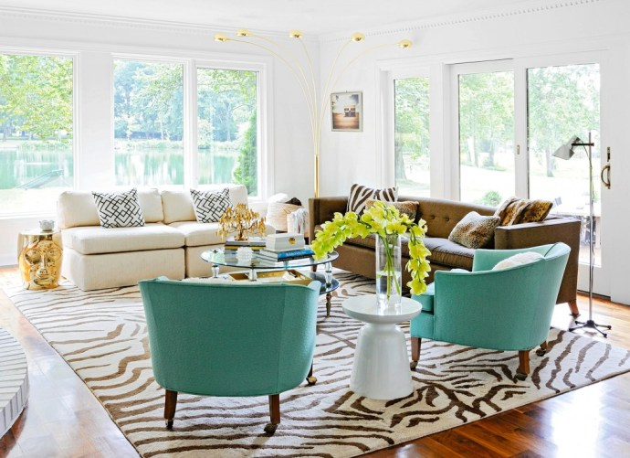 Stylish Lounge - Image Via BHG.com