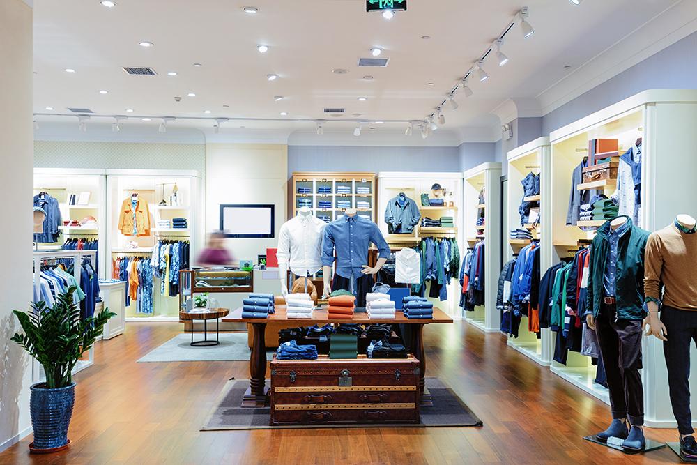 Clothing retail shop