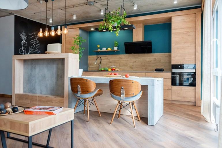 Modern, luxury designed kitchen