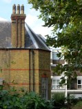 The Gatehouse in the Quaker Gardens