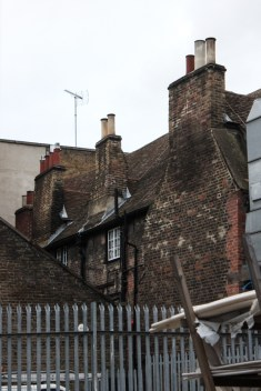 The rear of The George Inn from The Talbot Yard