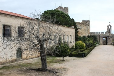 Inside the walls of the Castle, Tomar