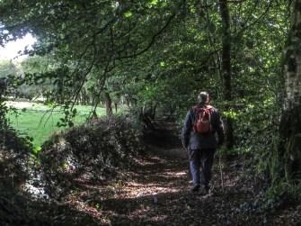 The first green lane in Locqueffret