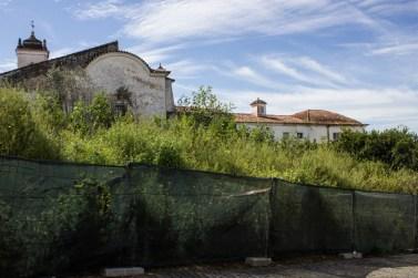 The rear of the Church & Hospital of the Misericordia, Alandroal