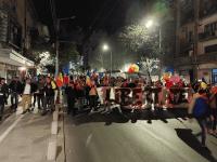 Protest în București față de măsurile anti-COVID în ziua cu cele mai multe infectări