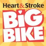 Heart and Stroke Big Bike logo