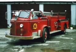 Former Engine 4 1961 LaFrance pumper