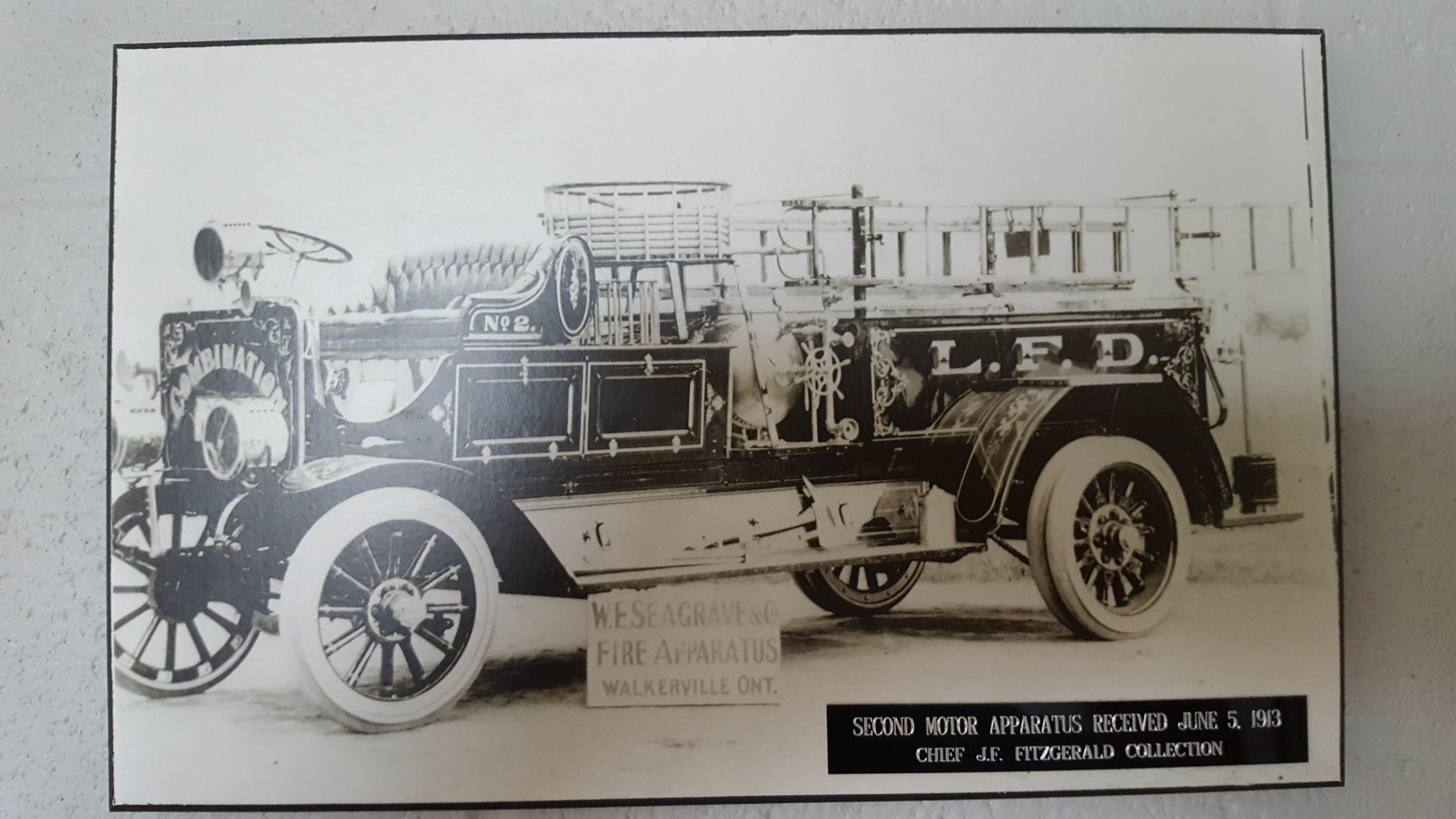 Second motor apparatus received June 5, 1913.