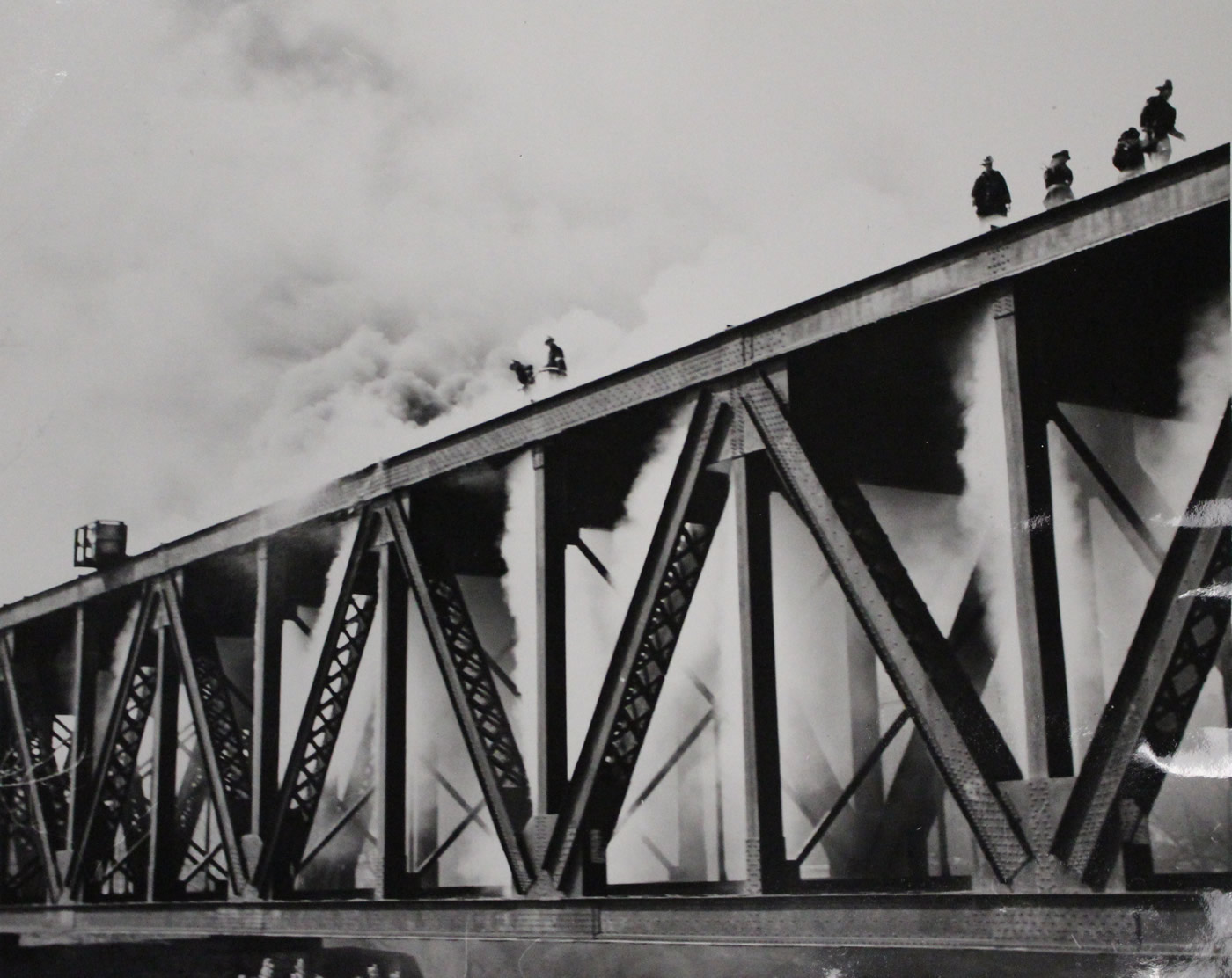 Trestle Bridge Fire
