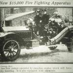 New $15,000 Fire Fighting Apparatus