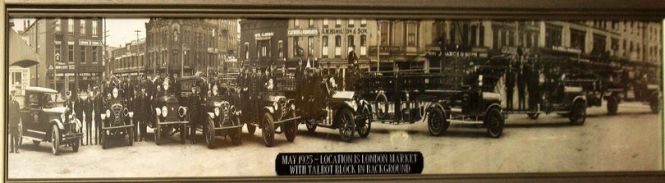 1925 London Ontario Fire Fighters