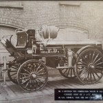 Horse drawn hose wagon
