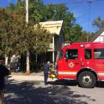 Accidental roof fire in Old South
