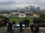 View from the top of the park. A bit stunning, London- or quite lovely, London.