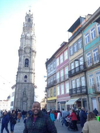 Igreja Clerigos and Tower.