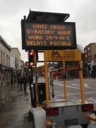 Learning a new language: what does 'gyratory' mean in terms of a traffic posting?