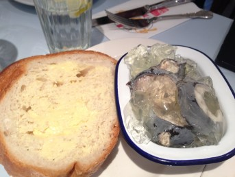 Jellied eels...an east end classic