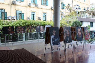 Photography exhibit with wonderful faces of Vietnamese Women all over the country.